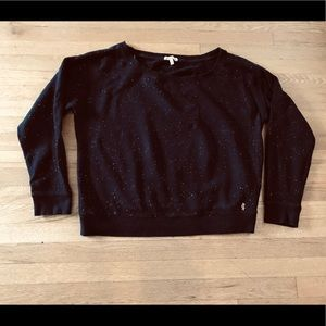 Juicy Couture Sweaters - Juicy Couture Pullover Black Sweatshirt